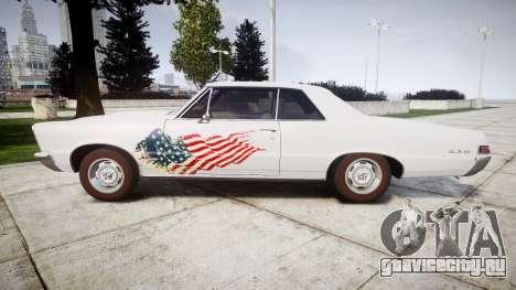 Pontiac GTO 1965 united для GTA 4 вид слева