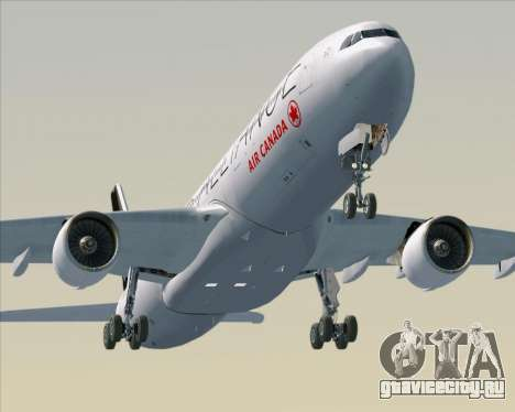 Airbus A330-300 Air Canada Star Alliance Livery для GTA San Andreas двигатель