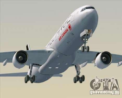 Airbus A330-300 Air Canada Star Alliance Livery для GTA San Andreas двигатель
