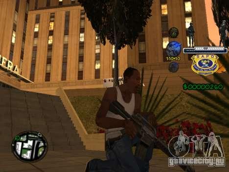 C-HUD Police S.A.P.D для GTA San Andreas четвёртый скриншот