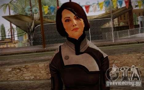 Ann Bryson from Mass Effect 3 для GTA San Andreas третий скриншот