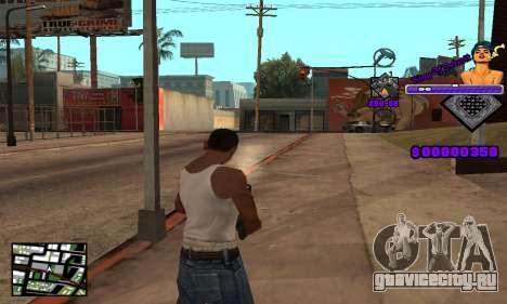 C-HUD King Of Detroit для GTA San Andreas четвёртый скриншот