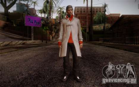 Aiden Pearce from Watch Dogs v7 для GTA San Andreas