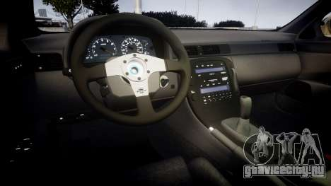 Lexus SC300 1997 Sharpie для GTA 4 вид изнутри