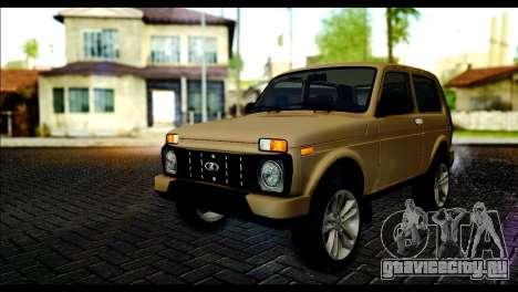 Lada 4x4 Urban для GTA San Andreas