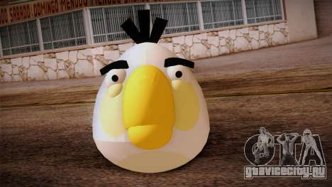 White Bird from Angry Birds для GTA San Andreas третий скриншот
