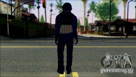 Chinese Jet Pilot from Battlefield 4 для GTA San Andreas второй скриншот