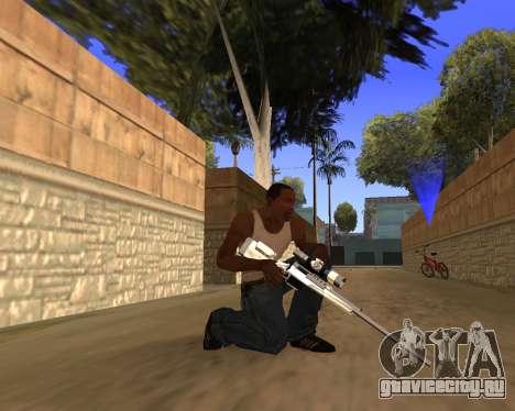 Clear weapon pack для GTA San Andreas пятый скриншот