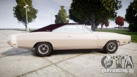 Dodge Charger RT 1969 для GTA 4 вид слева