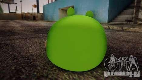 Pig from Angry Birds для GTA San Andreas второй скриншот