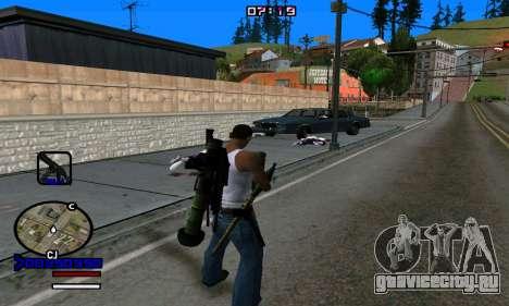 C-HUD Normal для GTA San Andreas пятый скриншот