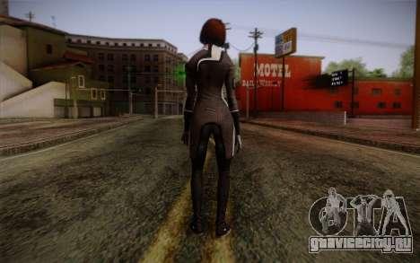 Ann Bryson from Mass Effect 3 для GTA San Andreas второй скриншот