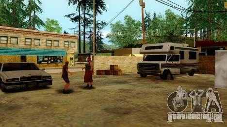 Оживление заправок Лос Сантоса для GTA San Andreas третий скриншот