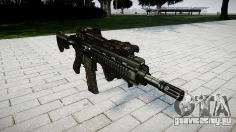 Винтовка HK416 CQB для GTA 4