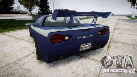 Invetero Coquette X для GTA 4 вид сзади слева