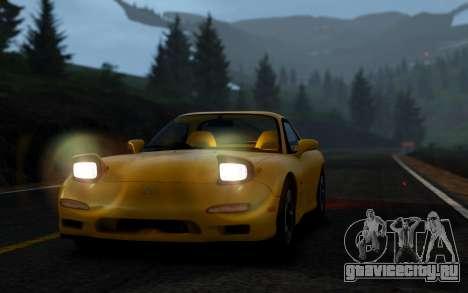 Mazda RX-7 1997 FD3s [EPM] для GTA 4 вид справа