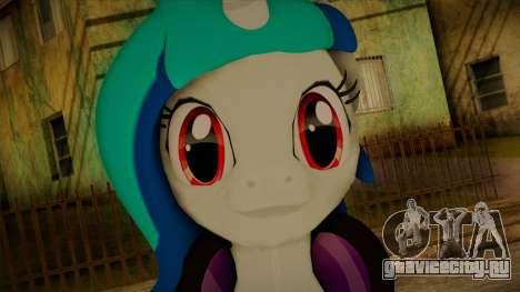 Vinyl Scratch from My Little Pony для GTA San Andreas третий скриншот