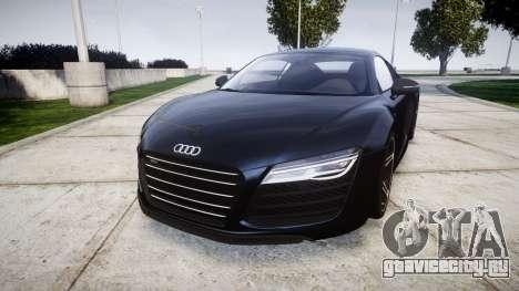 Audi R8 plus 2013 HRE rims для GTA 4