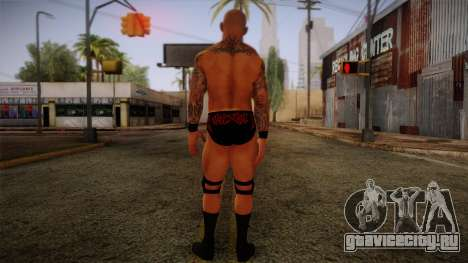 Randy Orton from Smackdown Vs Raw для GTA San Andreas второй скриншот