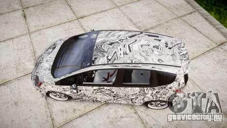 Honda Fit 2006 Sharpie для GTA 4 вид справа