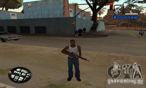 Samaro C-HUD для GTA San Andreas