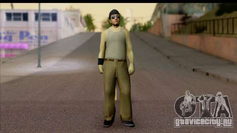 GTA San Andreas Beta Skin 6 для GTA San Andreas