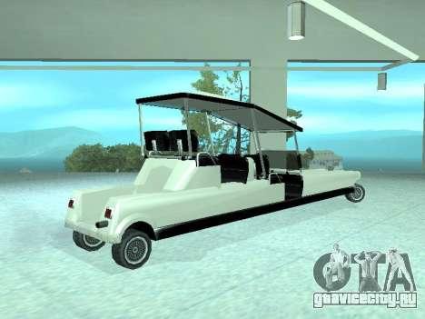Limgolf для GTA San Andreas вид слева
