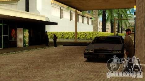Оживление заправок Лос Сантоса для GTA San Andreas девятый скриншот