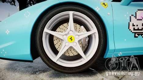 Ferrari 458 Italia 2010 v3.0 Purrari для GTA 4 вид сзади