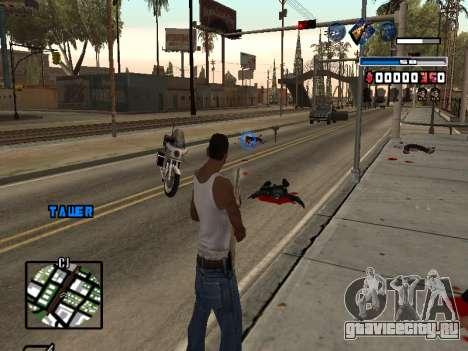 C-HUD Fantastik для GTA San Andreas третий скриншот