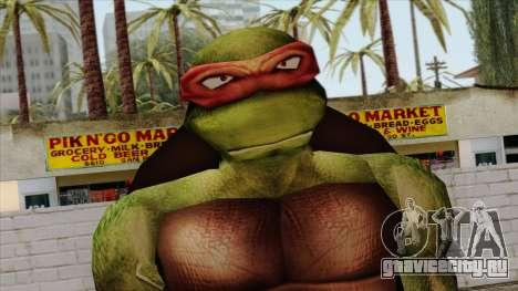 Рафаэль (Черепашки Ниндзя) для GTA San Andreas третий скриншот