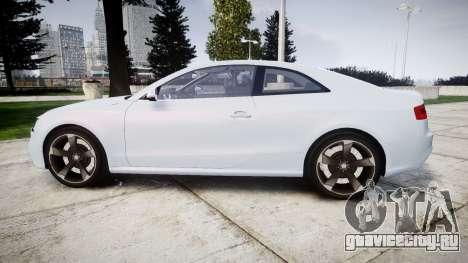 Audi RS5 2012 v2.0 для GTA 4 вид слева