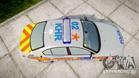 BMW 525d E60 2010 Police [ELS] для GTA 4 вид справа