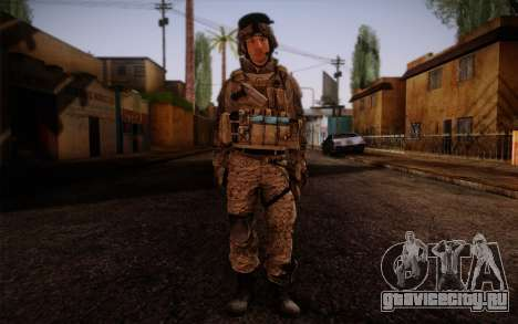 Campo from Battlefield 3 для GTA San Andreas