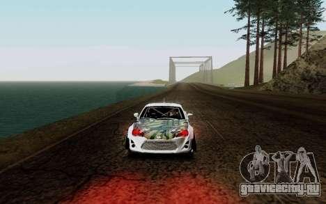 Subaru BRZ VCDT для GTA San Andreas вид слева