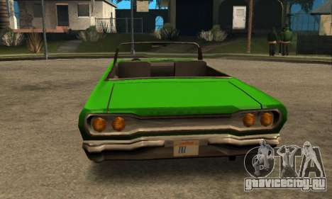 Beta Savanna для GTA San Andreas вид сбоку