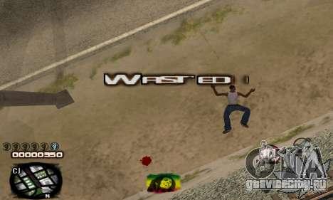 C-HUD Rasta для GTA San Andreas четвёртый скриншот