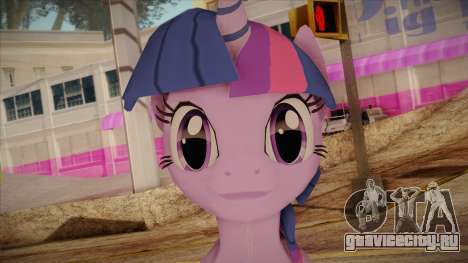 Twilight Sparkle from My Little Pony для GTA San Andreas третий скриншот