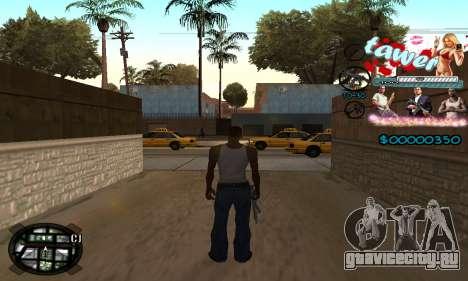 C-HUD Tawer GTA 5 для GTA San Andreas второй скриншот