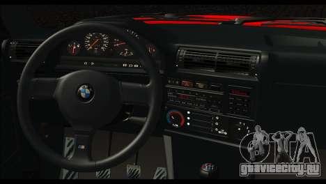 BMW M3 E30 Stock для GTA San Andreas вид сзади слева