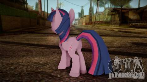 Twilight Sparkle from My Little Pony для GTA San Andreas второй скриншот