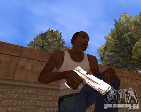 Clear weapon pack для GTA San Andreas второй скриншот