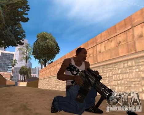 Hitman Weapon Pack v1 для GTA San Andreas второй скриншот
