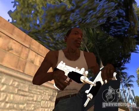 Clear weapon pack для GTA San Andreas третий скриншот