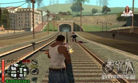 С-HUD Medic для GTA San Andreas третий скриншот