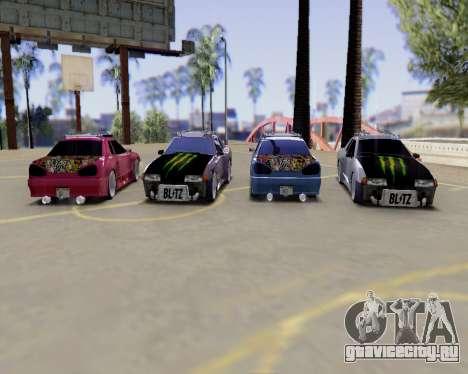 Elegy v2.0 для GTA San Andreas вид сзади
