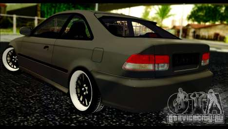 Honda Civic 1997 для GTA San Andreas вид слева