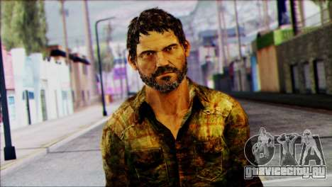 Joel from The Last Of Us для GTA San Andreas третий скриншот