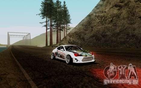 Subaru BRZ VCDT для GTA San Andreas
