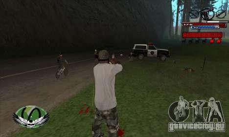 C-HUD by Kir4ik для GTA San Andreas третий скриншот